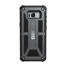 UAG Coque Antichoc Monarch Samsung Galaxy S8 Plus Noir Gris