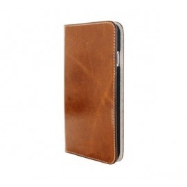 Mobiparts Excellent Wallet Case iPhone 7 / 8 / SE 2020  Oaked Cognac
