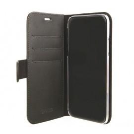 Valenta Coque Folio Cuir iPhone XS Max - noir