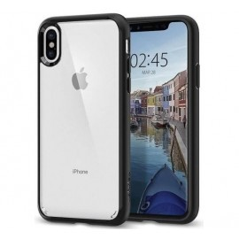 Spigen Ultra Hybrid Coque iPhone X / XS Noir