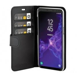 Valenta Coque Folio Samsung Galaxy S9 Noir