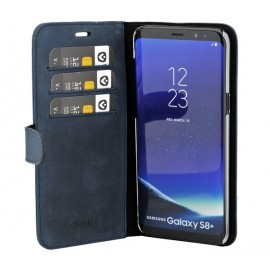 Valenta Coque Folio Samsung Galaxy S8 Plus - Bleue