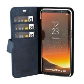Valenta Coque Folio Samsung Galaxy S8 - Bleue