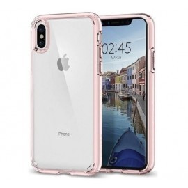 Spigen Ultra Hybrid iPhone X / XS Rose