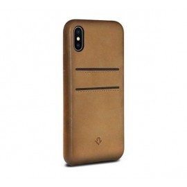 Twelve South Relaxed Leather étui iPhone X / XS Cognac