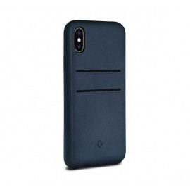 Twelve South Relaxed Leather étui iPhone X / XS Indigo