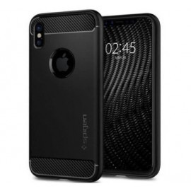 Spigen Rugged Armor iPhone X / XS Noir Mat