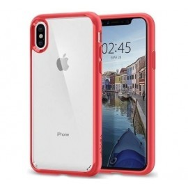 Spigen Ultra Hybrid iPhone X / XS Rouge