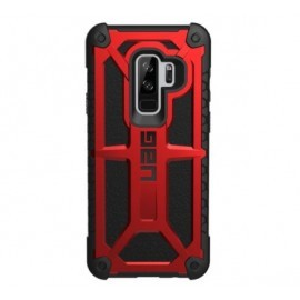 UAG Coque Antichoc  Monarch Samsung Galaxy S9 Plus rouge et noire