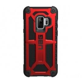 UAG Coque Antichoc  Monarch Samsung Galaxy S9 rouge et noire