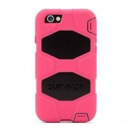 Griffin Survivor All-Terrain Étui Phone 6(S) Plus noir/rosé