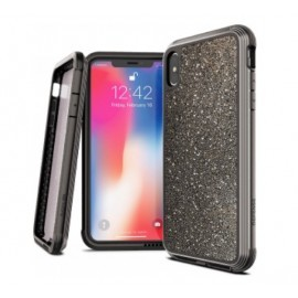 X-Doria Defense Lux - iPhone XS Max - Coque avec brillants