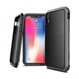 X-Doria Defense - iPhone XR - Coque en cuir noire