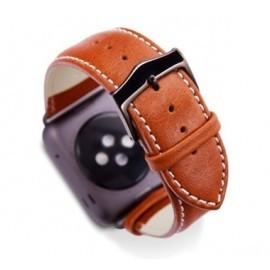 dbramante1928  - Bracelet Apple Watch 38 / 40 mm - Brun / Gris argent