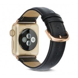 dbramante Bracelet Madrid Apple Watch 42mm Noir de Nuit