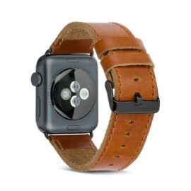dbramante1928  - Bracelet Apple Watch 42 / 44 mm - Brun Foncé / Gris sidéral