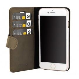 Valenta Coque Folio iPhone 8 / 7 / 6 / 6s / SE 2020 - Marron