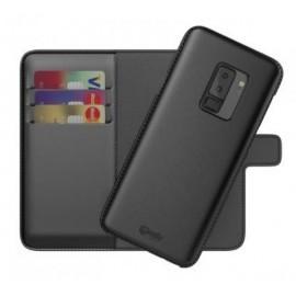 BeHello 2-in-1 Wallet - Étui Samsung Galaxy S9 Plus - Noire
