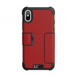 UAG Coque Antichoc Metropolis iPhone X / XS rouge