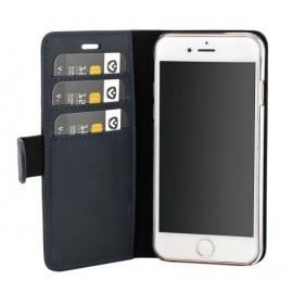 Valenta Coque Folio iPhone 6(S) / 7 / 8 / SE 2020 - Bleue