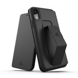Adidas SP Folio Grip Coque performance - iPhone XR Noire