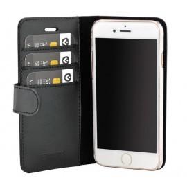 Valenta Coque Folio iPhone SE 2020 / 8 / 7 / 6 / 6s - Noire