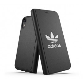 Adidas OR Booklet - Coque Folio BASIC - iPhone XR Noire