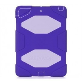Griffin Survivor All-Terrain Étui Hardcase iPad Air 1 violet