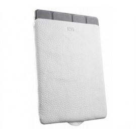 Sena Pochette Ultra Fine en cuir pour iPad 1 / 2 / 3 / 4 Blanche