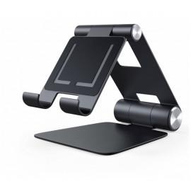 Satechi Aluminium Support Pliable pour iPad / Mac |Noir