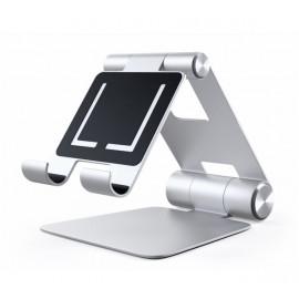 Satechi Aluminium Support Pliable pour iPad / Mac |Argent
