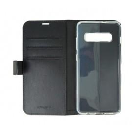 Valenta Coque Folio Samsung - Galaxy S10E Noire