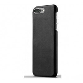 Coque en Cuir Mujjo pour iPhone 7 / 8 en couleur Noir