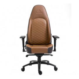 Nordic Gaming - Chaise De Bureau / Chaise de Gaming - Executive - En Cuir - Brun