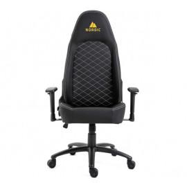 Nordic Gaming -  Chaise De Bureau / Chaise de Gaming - Executive Assistant - En Cuir -  Noir