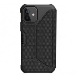 UAG Metropolis - Coque iPhone 12 Mini Solide - Noire