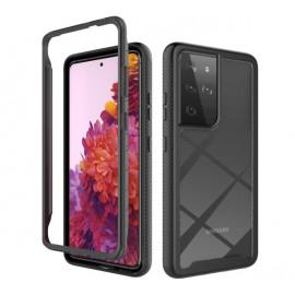 Casecentive - Coque Antichoc Samsung Galaxy S21 Ultra - Noire