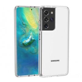 Casecentive - Coque Antichoc Samsung Galaxy S21 Ultra - transparente
