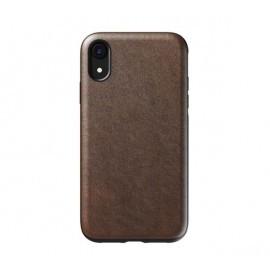 Nomad Étui Robuste en cuir iPhone XR marron