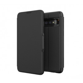GEAR4 Oxford Coque Folio Samsung Galaxy S10 Noire