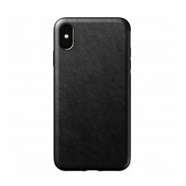 Nomad Rugged Coque iPhone XS Max En cuir Noire