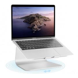 Rain Design 360 mStand - Support rotatif pour ordinateur portable - Argenté