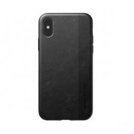 Nomad - Coque iPhone X / XS en fibre de Carbone - Noire
