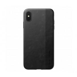 Nomad - Coque iPhone XS Max en fibre de Carbone - Noire
