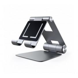 Support d'appareils Satechi en aluminium pliable gris