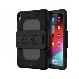 Griffin Survivor Coque All-Terrain pour iPad Pro 11 (2018) noir avec dragonne