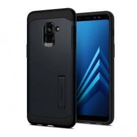 Spigen Armor Coque Samsung Galaxy A8 2018 Noir