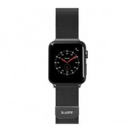 Laut Steel Loop Apple Watch 42 / 44 mm zwart