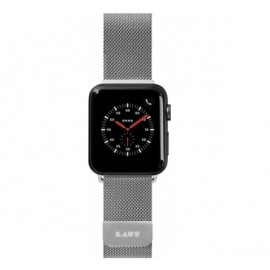 Laut Steel Loop Apple Watch 42 / 44 mm Argent