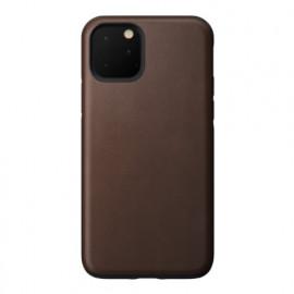 Nomad Rugged Coque iPhone 11 Pro En cuir Marron